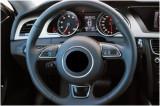 Husa volan compatibila AUDI AA5 cu gaurele ManiaCars