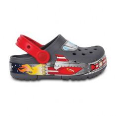 Saboți Copii casual Crocs CrocsLights Galactic Clog