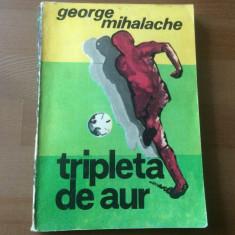 tripleta de aur pele baratky dobrin george mihalache fotbal ed sport turism 1991