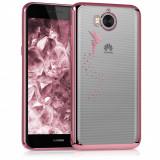 Husa pentru Huawei Y6 (2017), Silicon, Rose Gold, 42686.03