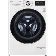 Masina de spalat rufe LG F2WV9S8P2, 8.5 kg, 14000 RPM, Clasa A+++, Motor AI Direct Drive Inverter, Turbowash, Steam+, WiFi, Alb