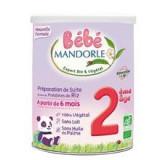 Formula 2 Lapte Praf Vegetal Bio pentru Bebelusi La Mandorle 800gr Cod: 3760030723221