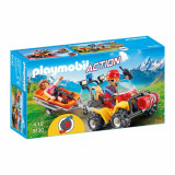 Set figurine Playmobil Action - Salvatori montani cu targa (9130)