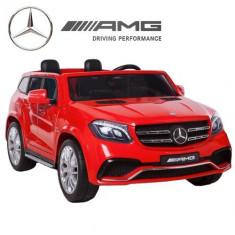 Kinderauto Mercedes GLS63 AMG 4x4 PREMIUM 24V Rosu