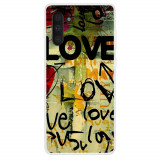 Cumpara ieftin Husa Samsung Galaxy Note 10 model Love Graffiti, Silicon, TPU, Viceversa