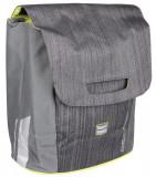Simpla geanta bicicleta gri-verde