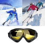 Ochelari de ski / snowboard / paintball goggles - UV400 - galben
