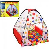 Cort Copii 88x88x105cm Loc Joaca cu Bile Magic Ball House 96988