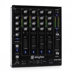 Skytec STM-7010 4-canale DJ Mixer USB MP3 EQ