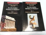 IN CAUTAREA SENSULUI PIERDUT - DUMITRU CONSTANTIN DULCAN - 2 vol