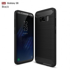 Husa Samsung Galaxy S8 - Carbon Brushed Black
