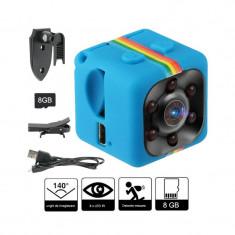 Mini Camera HD,cu functie video si foto, card 8gb inclus