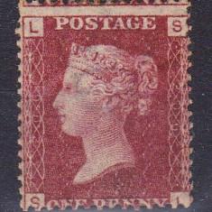Anglia 1858 / Plate 200 / Nestampilat