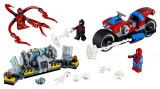 Lego Salvarea Cu Motocicleta A Lui Spider-Man
