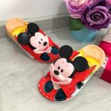 Cumpara ieftin Papuci rosii de vara cu Mickey pentru copii baieti 28 29