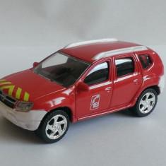 Macheta Dacia Duster Pompieri 2010 - Norev 3 inch