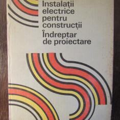 INSTALATII ELECTRICE PENTRU CONSTRUCTII INDREPTAR DE PROIECTARE-M.DUMINICATU