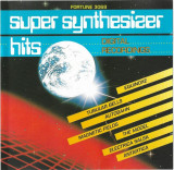 CD Super Synthesizer Hits, original: Vangelis, Mike Oldfield, Jean Michael Jarre