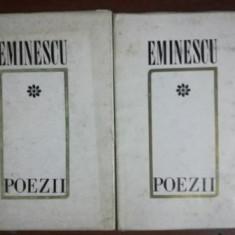 Poezii - Mihai Eminescu 2 volume Editura:Minerva