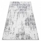 Covor acril USKUP Beton 9484 fildeş / gri, 80x150 cm