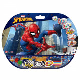Set desen si accesorii Spiderman Giga Block 5 in 1