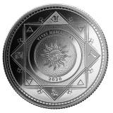 Moneda argint 999 lingou, Vivat Humanitas 1 uncie = 31 grame