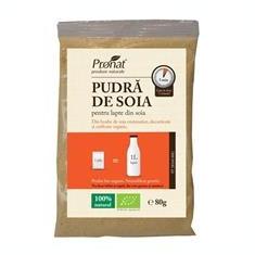 Pudra de Soia Bio Pronat 80gr Cod: prn199