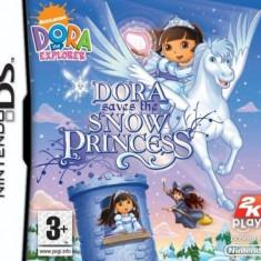 Joc Nintendo DS Dora saves the Snow Princess