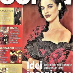 Burda revista de moda  in limba romana 65 tipare 12/2001  (croitorie)