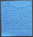 Scrisoare Alexandru Vaida Voievod , Ministrul de Interne