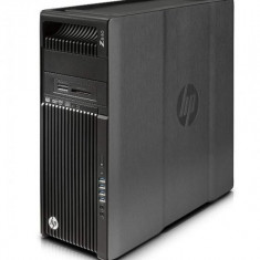 Workstation HP Z640 Tower, 2 Procesoare Intel Quad Core Xeon E5-2637 v3 3.5 GHz, 32 GB DDR4 ECC, 512 GB SSD, DVD-ROM, Placa Video NVIDIA Quadro