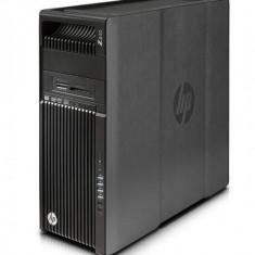 Workstation HP Z640 Tower, 2 Procesoare Intel Quad Core Xeon E5-2637 v3 3.5 GHz, 64 GB DDR4 ECC, 8 TB HDD SAS, DVD-ROM, Placa Video NVIDIA Quadro M5