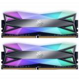 Memorii ADATA XPG Spectrix D60G RGB 32GB(2x16GB) DDR4 3200MHz CL16 Dual Channel Kit