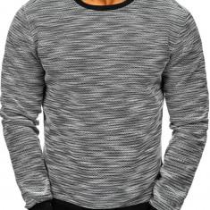Bluză bărbați negru-alb Bolf 2001-2