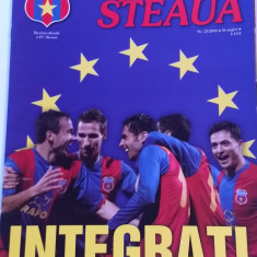 "Revista fotbal - ""Suporter STEAUA"" (Nr.23/2006) - poster faza Real-Steaua"