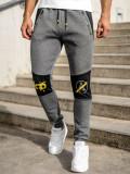Pantaloni de trening grafit Bolf K10013