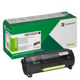 Toner lexmark 56f2000 6 k black return program ms321dn /ms421dn
