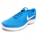 Pantofi sport Nike Revolution 4, 44, Albastru, Textil