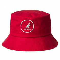 Palarie rosie Kangol Cotton Bucket (Masura: S,M,L) - Cod 97353454365