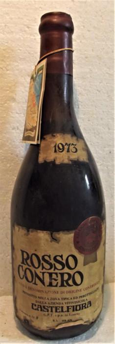 94 - VIN  rosu CONERO, DOC, recoltare 1973 cl 72 gr 12,5