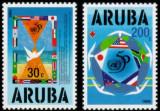 ARUBA 1995 ANIVERSAREA ONU, Nestampilat