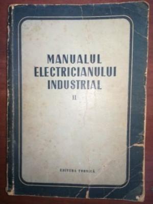 Manualul electricianului industrial vol 2 foto
