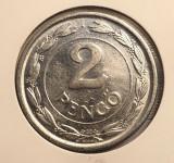 Ungaria 1 si 2 pengo 1941 si 1943, Europa, Aluminiu