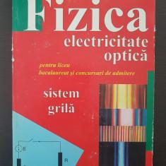 FIZICA ELECTRICITATE OPTICA - Rusu, Galbura