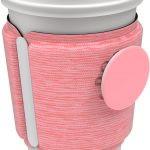 Husa accesoriu cu Popsockets®MACARON MELANGE, compatibil cu pahare si cani
