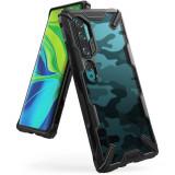 Carcasa Ringke Fusion X Xiaomi Mi Note 10/10 Pro Camo Black