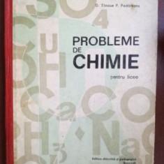 Probleme de chimie pentru licee- D. Tanase, P. Podareanu