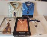 Camasi bumbac, barbatesti, 30 RON TOATE 5, L, Albastru