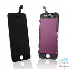 Display iPhone 5C Cu TouchScreen Negru