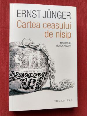 Ernst Junger - Cartea ceasului de nisip foto
